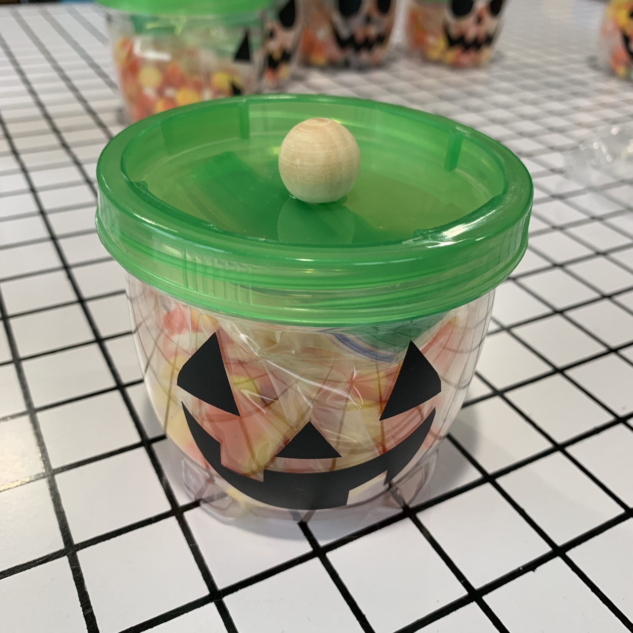 Halloween Candy Container