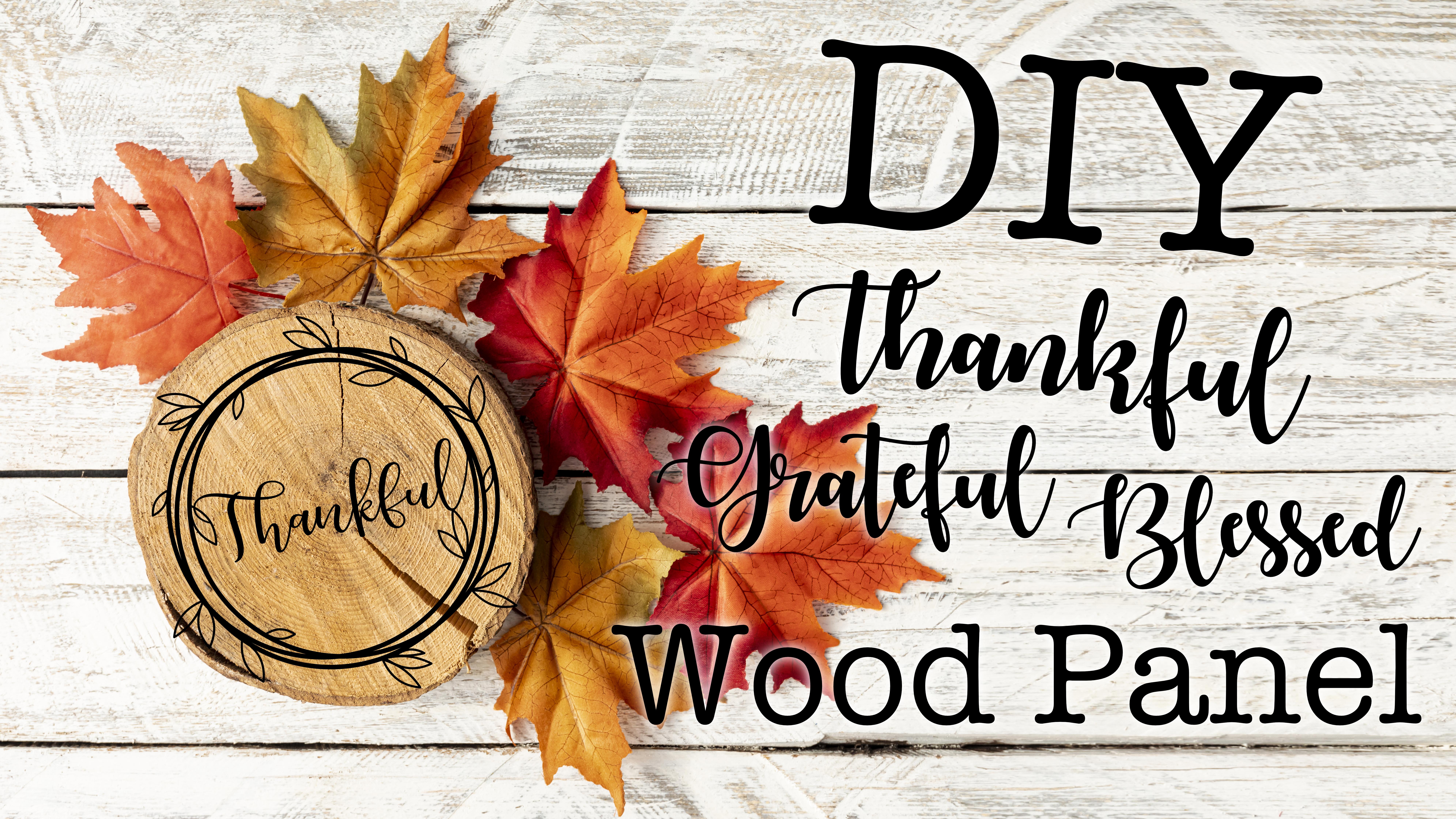 ThankfulGratefulBlessed